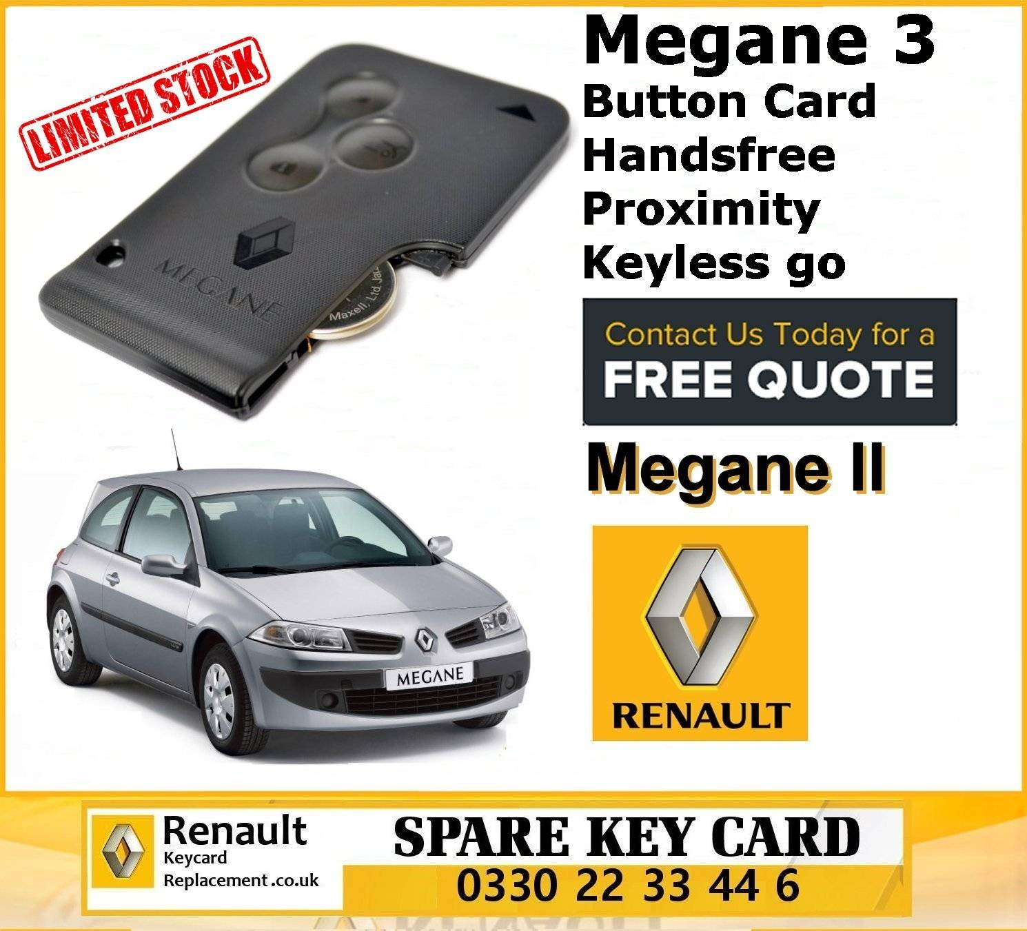 Renault Replacement Remote Key Card Stockport Bramhall, Bredbury, Cheadle, Gatley, Hazel Grove, Heaton Chapel, Heaton Mersey, Heaton Moor, Heaton Norris, Marple, Marple Bridge, Mellor, Reddish, Romiley