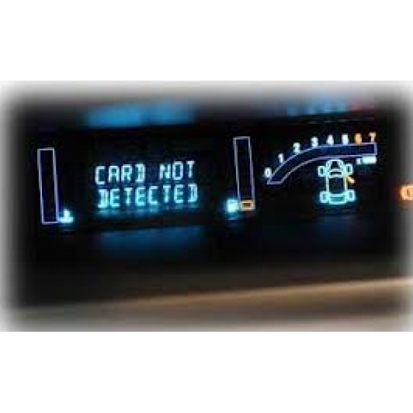 card not detected and wont start renault scenic card not detected