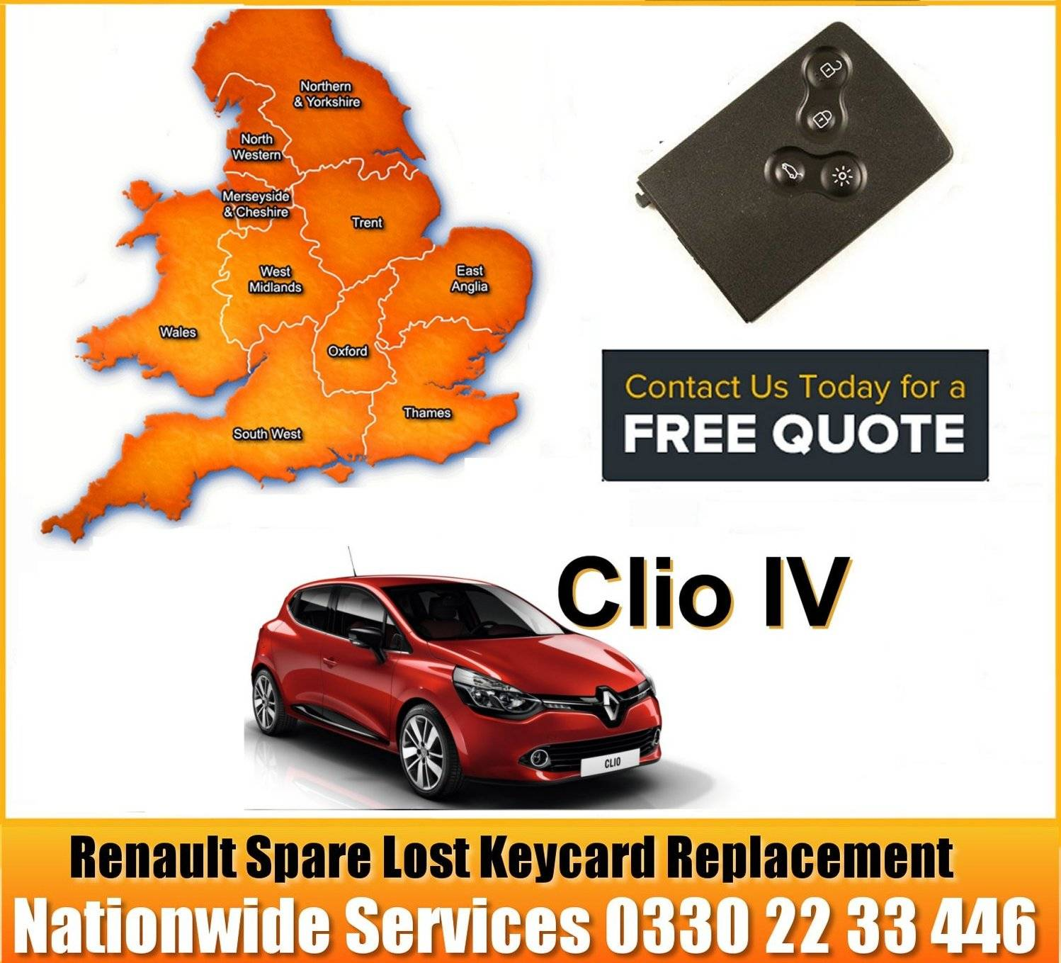 Renault Replacement Remote Key Card Salford	Swinton	Eccles  Walkden  Worsley  Salford  Irlam  Ordsall  Pendlebury  Cadishead Stockport Bramhall  Bredbury  Cheadle