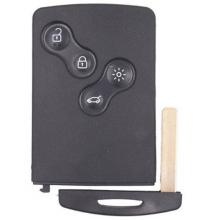 4 Button Remote Keycard for Renault Genuine Renault Laguna III /Megane III / Scenic III Key Card (285975779R)
