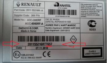 Renault Clio Radio Code Free Calculator Generator, image , 8 image
