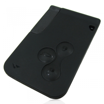 3 Button Remote Key Card for Renault Scenic - Grand Scenic  2003 - 2008