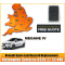 2019 Renault Megane IV, 4 Button Key Fob, Replacement, Spare, Lost, Not Locking Not Unlocking, image