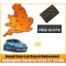 2012 Renault Zoe Replacement 4 Button Remote Key Card, image