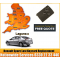 2008 Renault Laguna Replacement 4 Button Remote Key Card, image