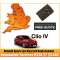 Renault Clio 2016 Replacement 4 Button Remote Key Card