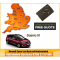 2012 Renault Scenic Replacement 4 Button Remote Key Card, image